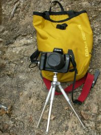 take your camera when camping