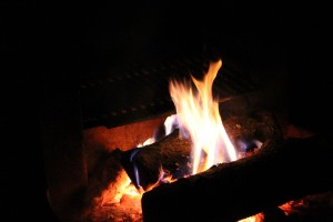 the hipnotic lure of a campfire