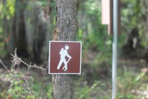 hiking signage