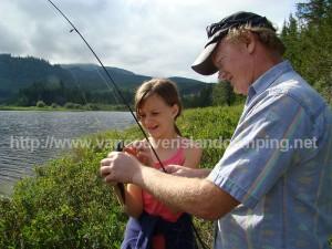 fishing and camping