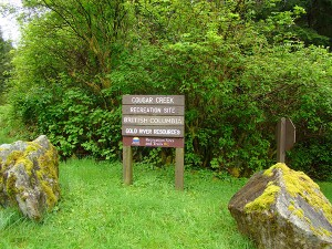 cougar creek campground