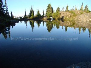Crest Mountain Trail Lake