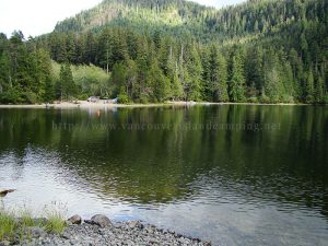 atluck lake - vancouver island camping for free