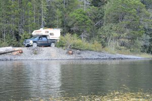 atluck lake campsite from vancouver island camping