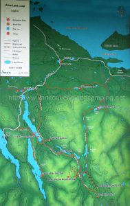 alice lake loop map from vancouver island camping for kathleen lake