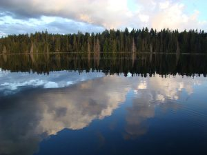 merrill lake on Vancouver Island