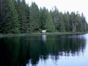 gosling lake recreation site on vancouver island
